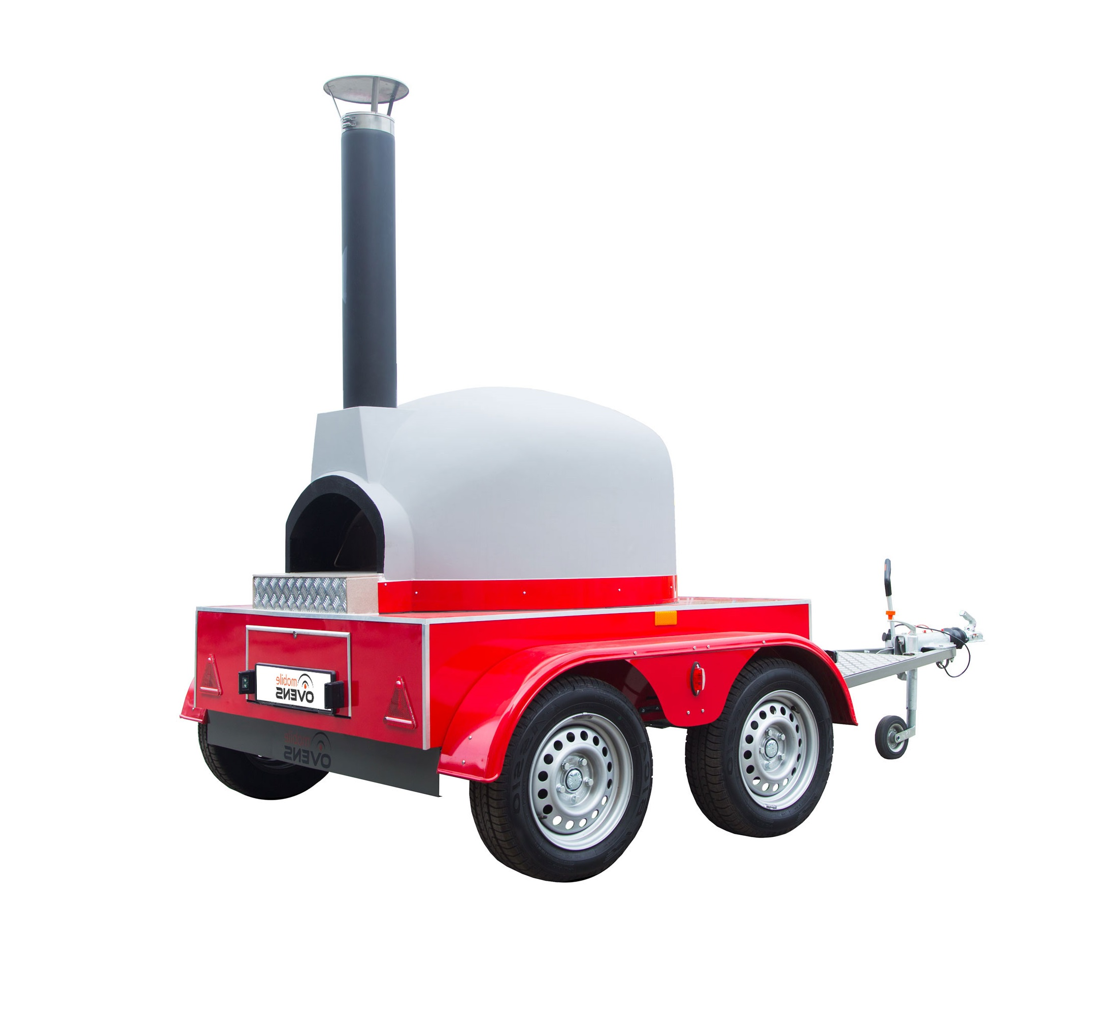 Mobile wood fired oven